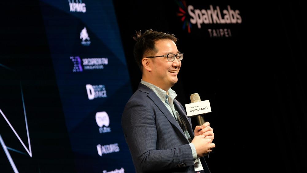 SparkLabs Taipei創辦人邱彥錡表示:「SparkLabs Taipei整合國際三資,助台灣新創走向國際,站上世界舞台」