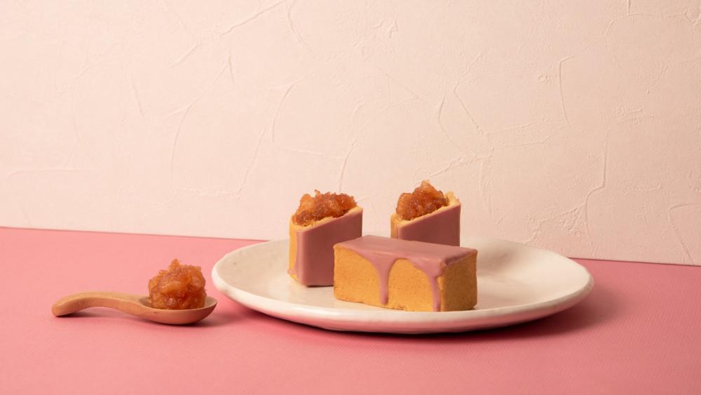 《微熱山丘》母親節「粉紅蘋果酥」上市宣傳