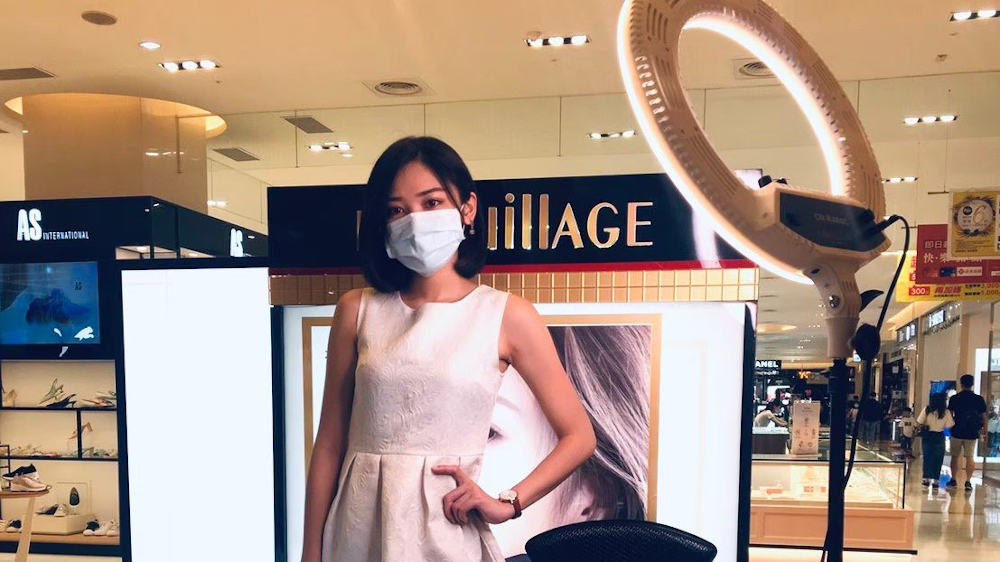 資生堂《心機彩妝 MAQuillAGE》底妝百貨通路夏季推廣